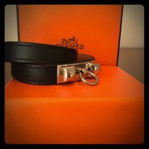 Authentic Hermès Rivale Double Tour Bracelet